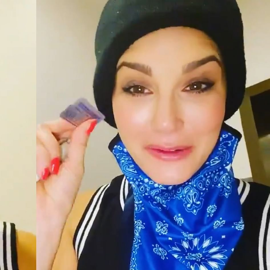 Watch: Sunny Leone goes incognito as she makes a late-night run at the pharmacy for sick husband Daniel Weber