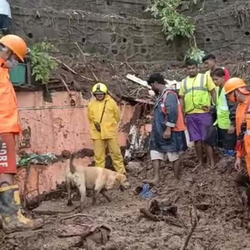 PM Modi, President Kovind express grief over loss of lives due to wall collapses in Mumbai; PMO announces Rs 2 lakh ex-gratia for kin of deceased