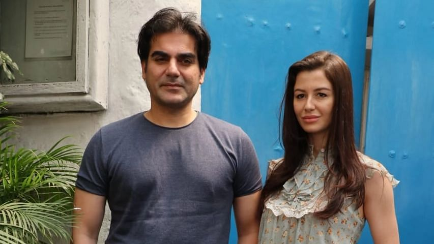File photo of Arbaaz Khan with Giorgia Andriani