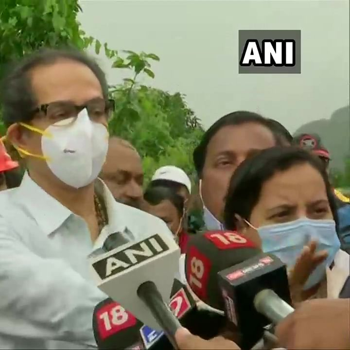 Maharashtra CM Uddhav Thackeray visits flood affected Raigad, says will make efforts to avoid loss of life in future incidents