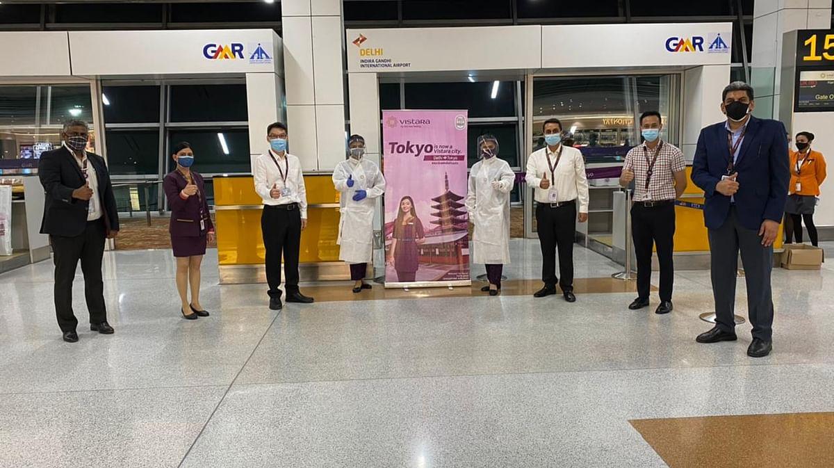 Vistara begins non-stop services between Delhi to Tokyo Haneda