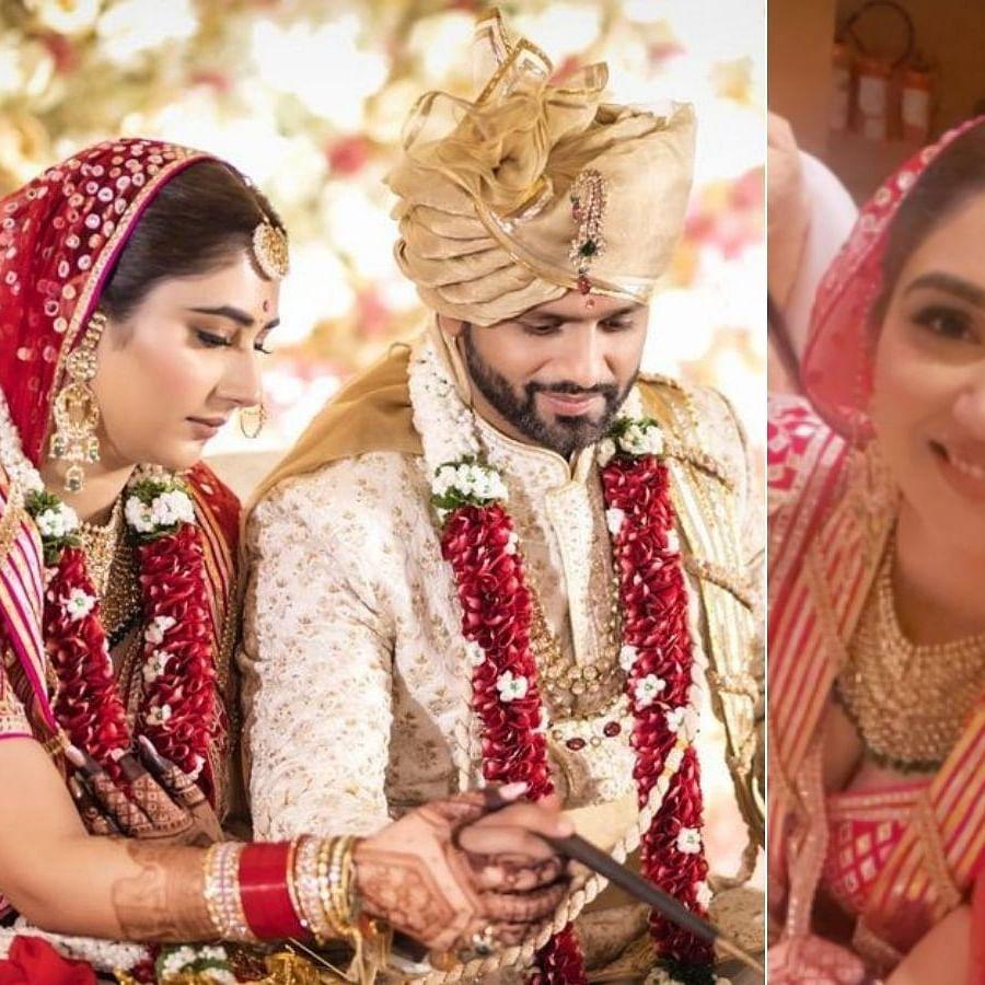 Newlyweds Rahul Vaidya and Disha Parmar share unseen photos from their wedding