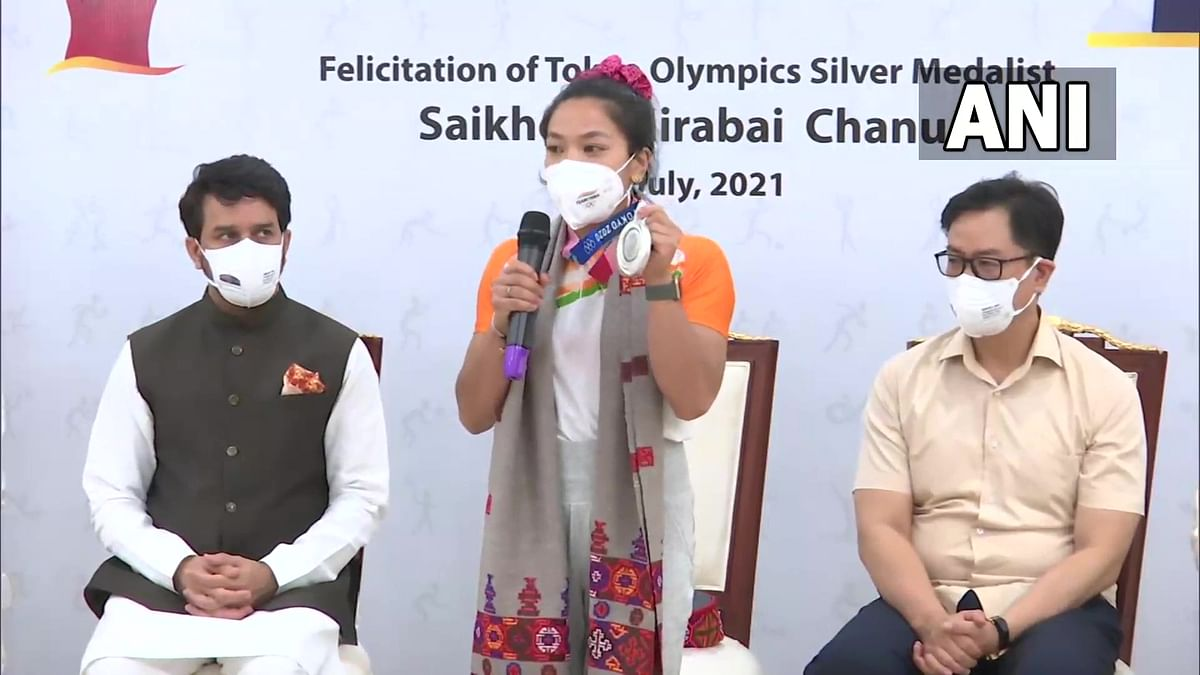 Mirabai Chanu says PM Modi's encouragement helped her clinch Silver Medal for India at Tokyo Olympics
