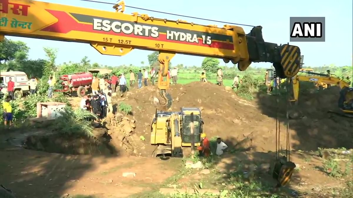 Madhya Pradesh: At least four killed, several others injured after falling into well; rescue operations continue