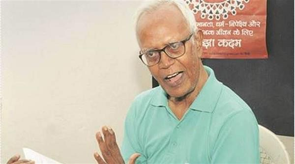 Tribal rights activist Fr Stan Swamy