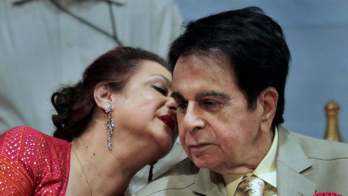 'God snatched away my reason for living': Saira Banu's first words after Dilip Kumar's death