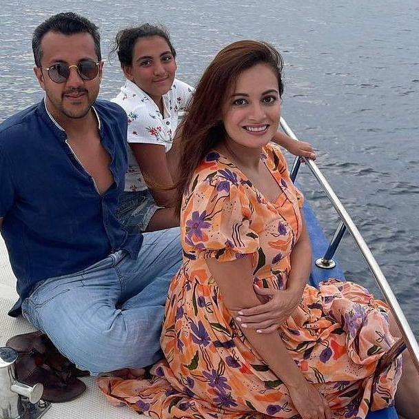 Mom-to-be Dia Mirza shares unseen honeymoon pics with husband Vaibhav Rekhi and stepdaughter Samaira