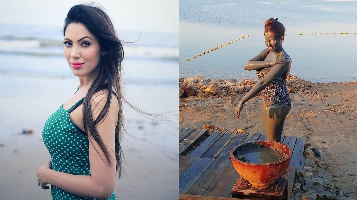 'Taarak Mehta…' actress Munmun Dutta sets the internet ablaze as she takes mud bath in a sexy monokini