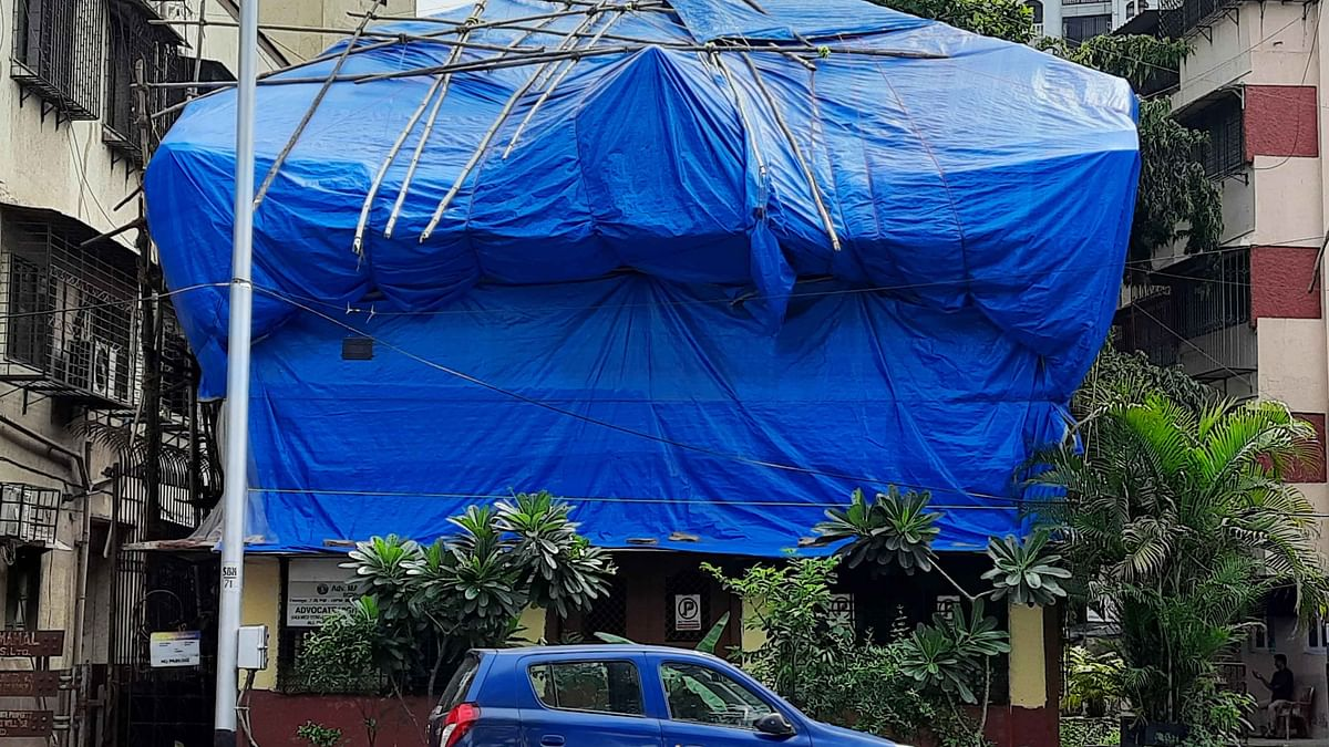 Buildings on the Brink: Mahim's Rail View bldg declared highly dangerous, awaits redevelopment despite NOC from MHADA