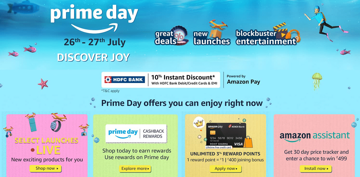 Amazon to host Prime Day sale event in India this month: Check dates, new launches and other offers here
