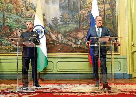 Jaishankar, Lavrov discuss nuclear, space, defence co-operation