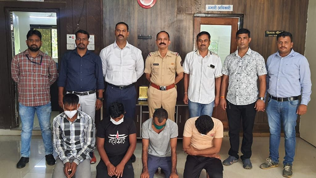 Vasai: Police nab steel thieves from Ahmedabad, recover goods worth Rs 8.76 lakh