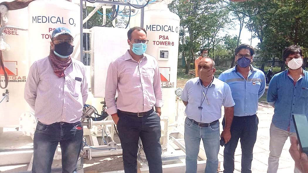 Madhya Pradesh: Nagda to get ICU and oxygen plant soon, work almost completed
