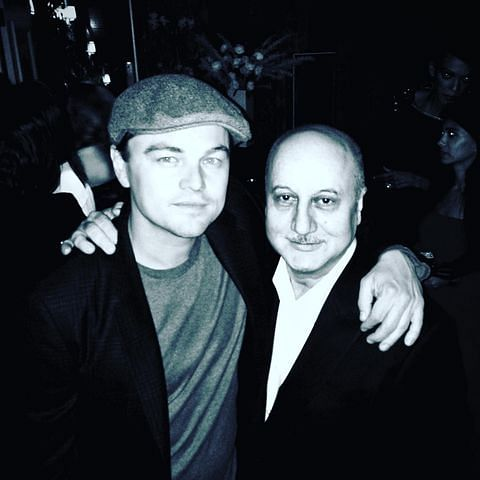 Anupam Kher reveals how he introduced himself to Leonardo DiCaprio, shares Hollywood star's heart-warming reaction