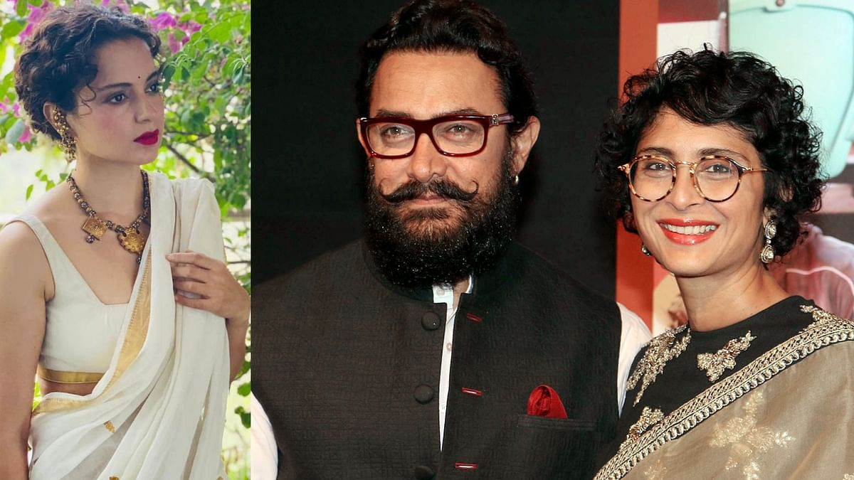 'Why woman cannot continue to be Hindu': Kangana reacts to Aamir Khan-Kiran Rao's divorce