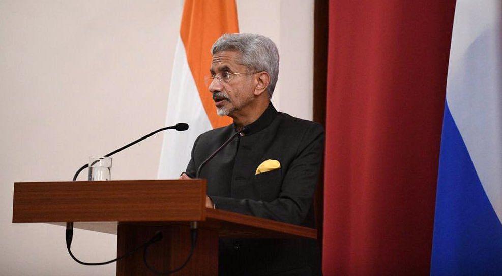 Basis for international travel should be testing, not vaccine: EAM S Jaishankar