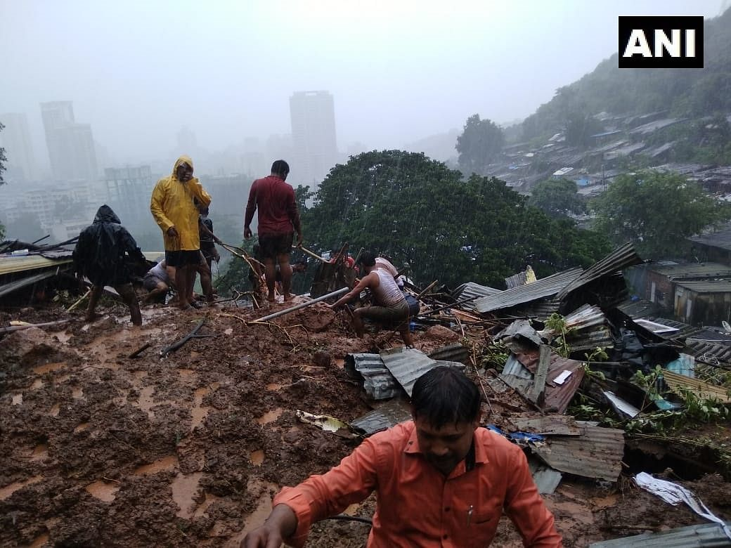 Thane: Five members of family, including three minors, killed as boulder crashes into house