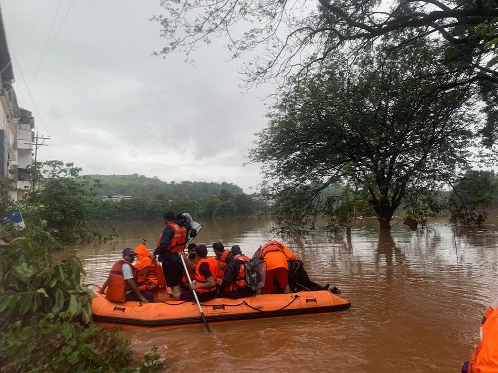 76 dead, 38 injured and 30 still missing in flood-ravaged Maharashtra; Uddhav Thackeray set to visit affected areas