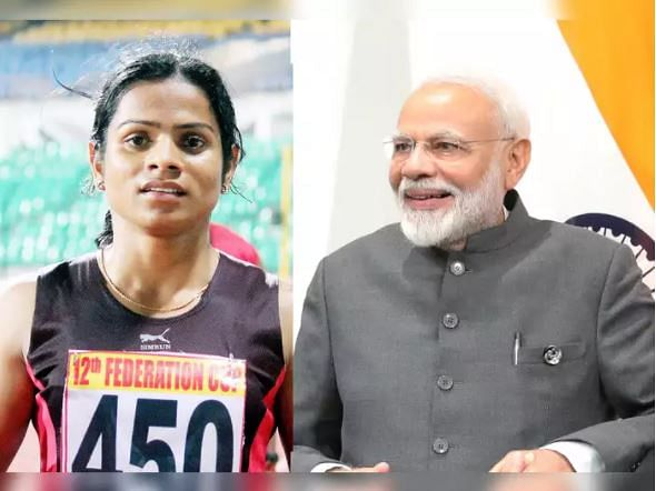 PM Modi and Dutee Chand: Check out what sprinter had to say after their interaction over Tokyo Olympics