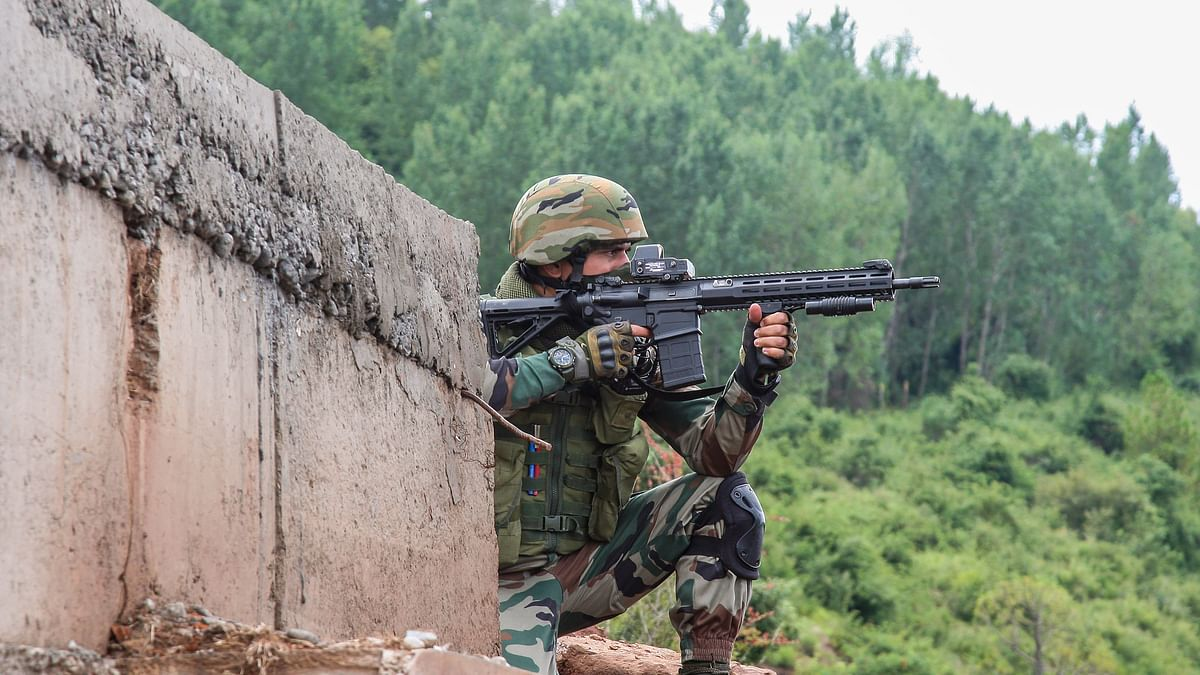 Top LeT commander among two terrorists killed in an encounter with security forces in Jammu and Kashmir's Shopian