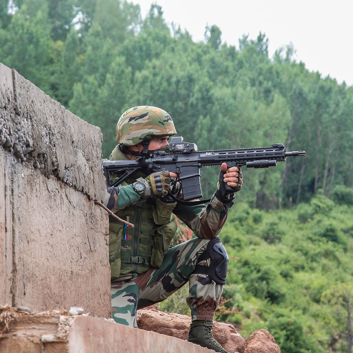 Jammu and Kashmir: Two LeT terrorists killed in encounter with security forces in Sopore