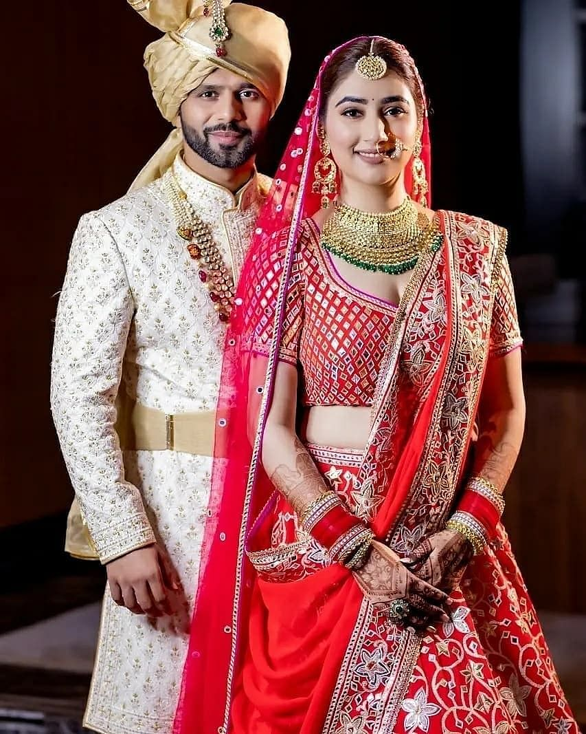 Inside pictures and videos from Rahul Vaidya and Disha Parmar's wedding ceremony