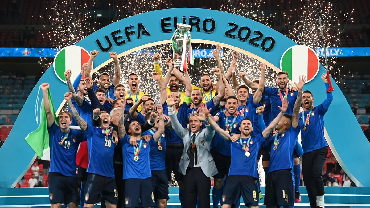 Italy wins Euro 2020 final, beats England 3-2 in penalty shootout