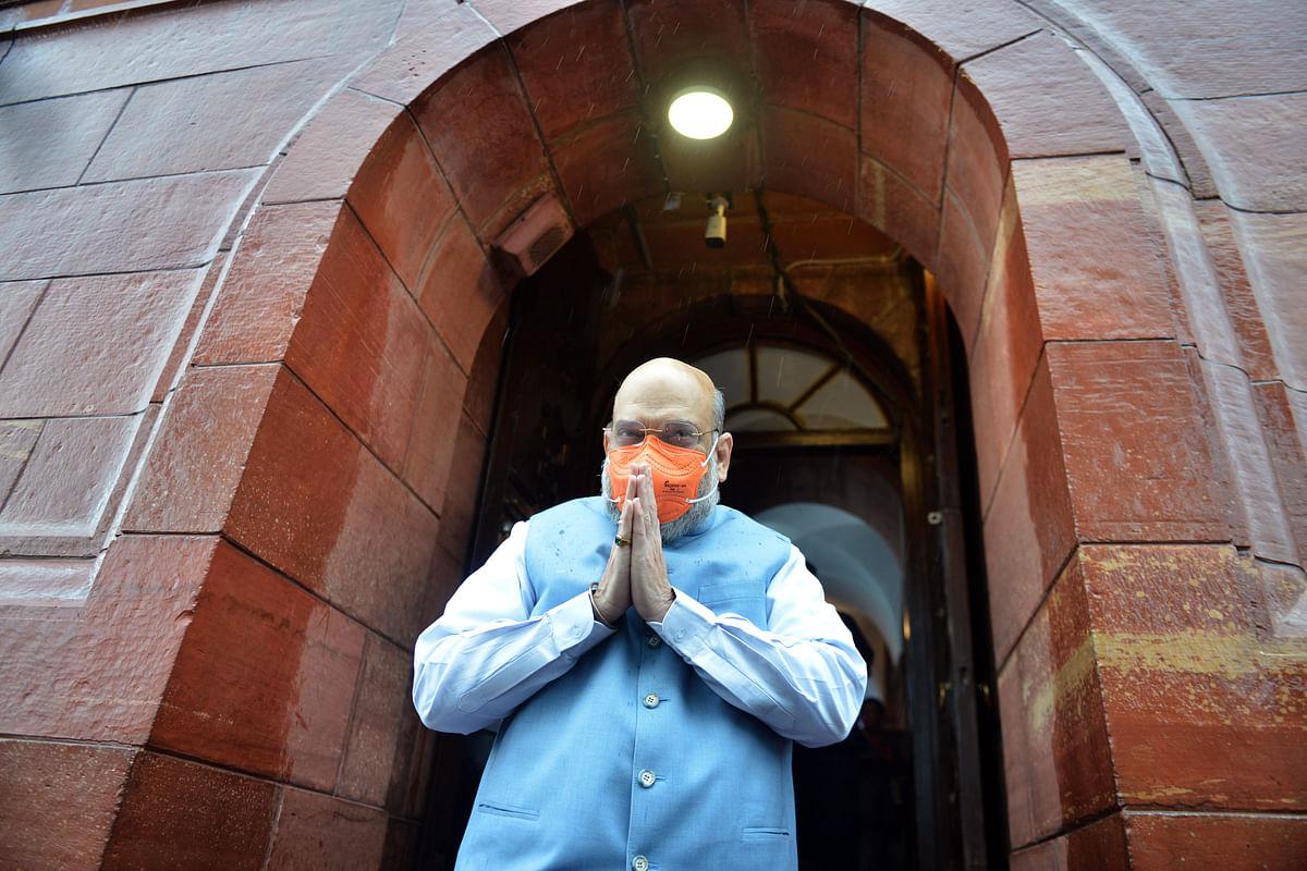 'Aap Chronology Samajhiye': Amit Shah slams 'rudderless' Congress, questions timing of Pegasus Project report