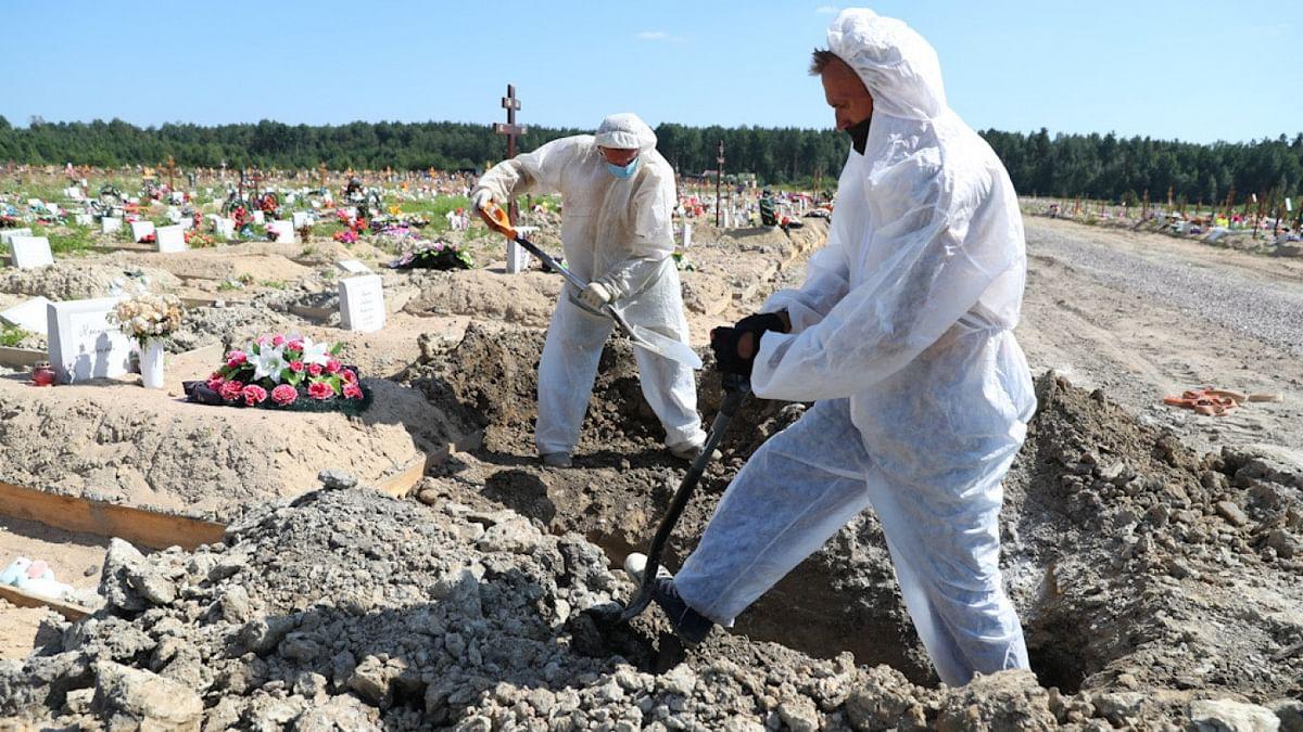 Record Covid-19 deaths in Russia