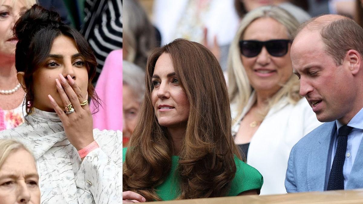 Watch Video: Did Priyanka Chopra snub Prince William and Kate Middleton at the Wimbledon finals?