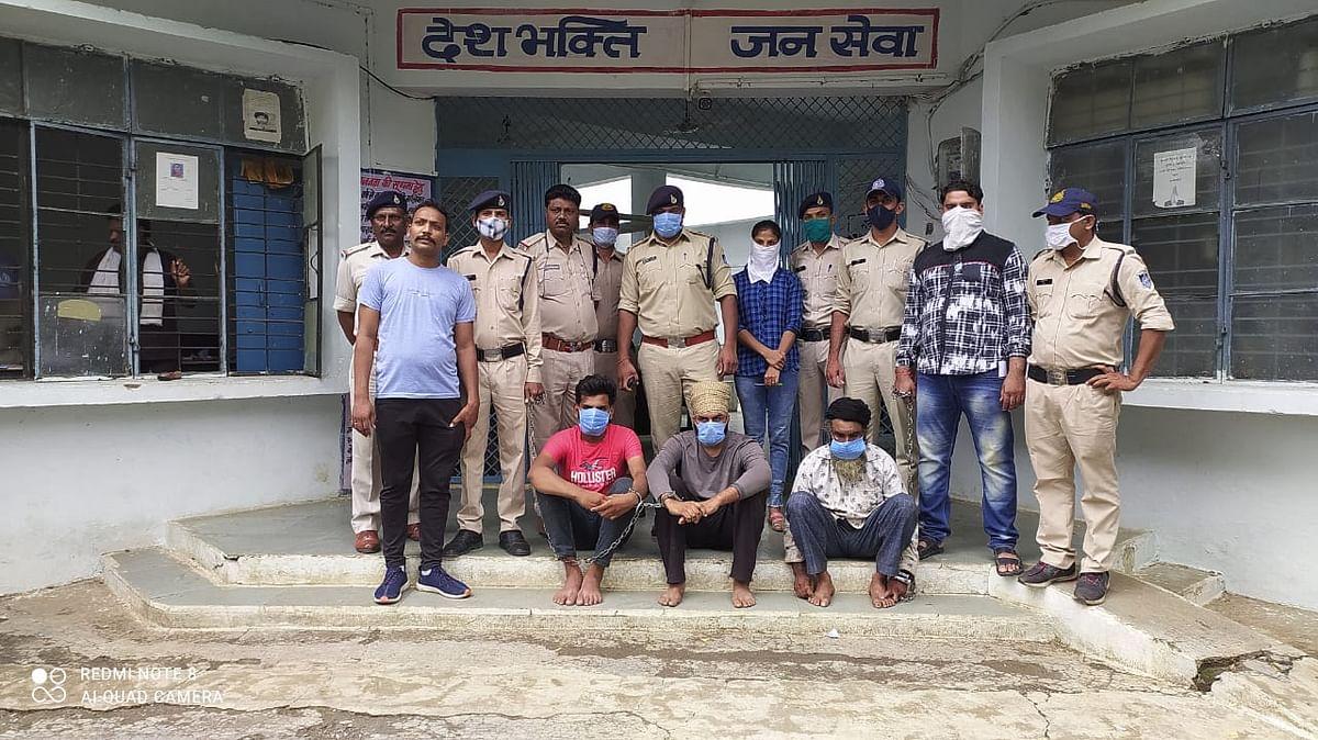 Madhya Pradesh: Khaknar police arrest three with 15 made country pistols
