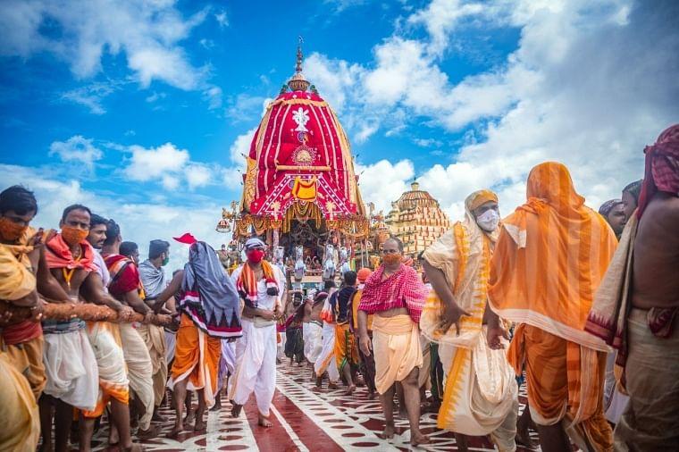 Lord Jagannath Annual Rath yatra festival held, in Puri