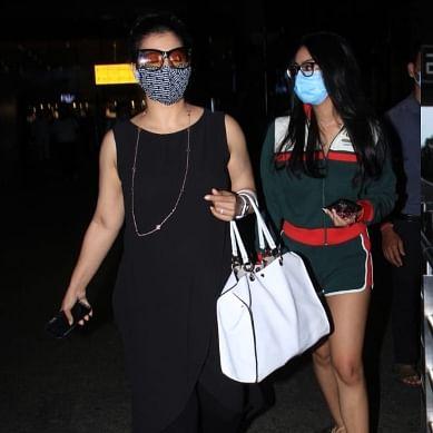 In Pics: Abhishek Bachchan, Kajol, Tara Sutaria and other b-town stars spotted in Mumbai