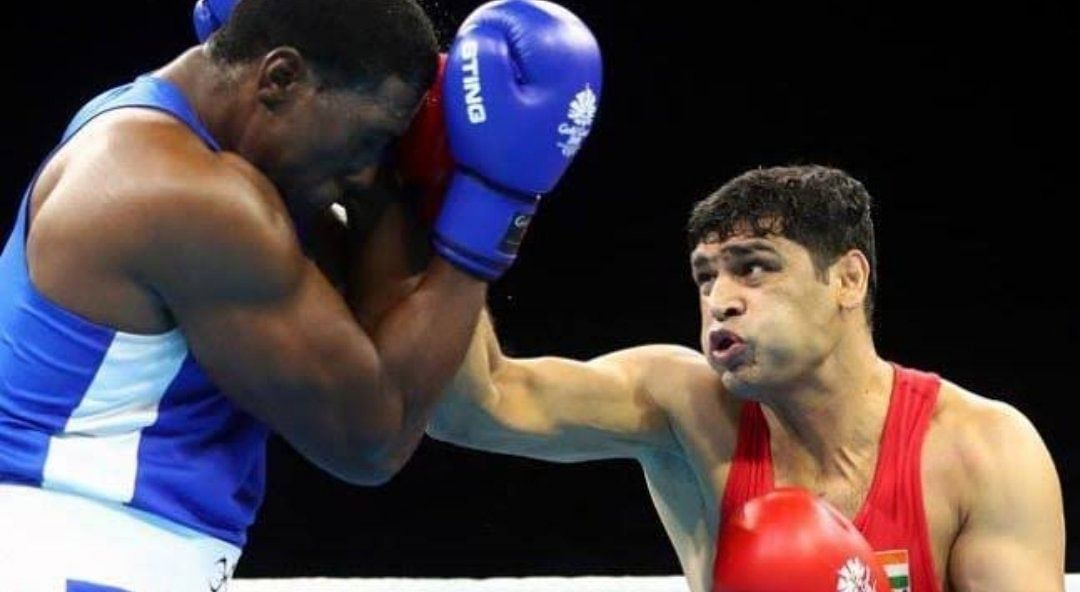 Boxing at Tokyo Olympics: Satish Kumar, India's first Super heavyweight boxer at Olympics storms into the quarterfinals
