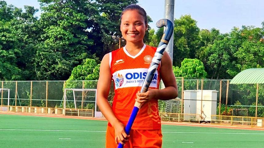 Indian hockey player Lalremsiami