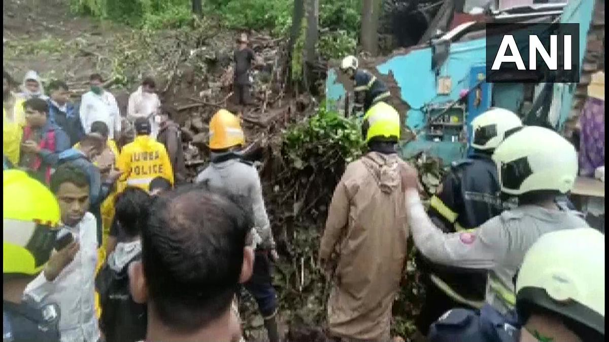 11 people were killed after a wall collapse on some shanties in Chembur's Bharat Nagar area due to a landslide, said National Disaster Response Force (NDRF).