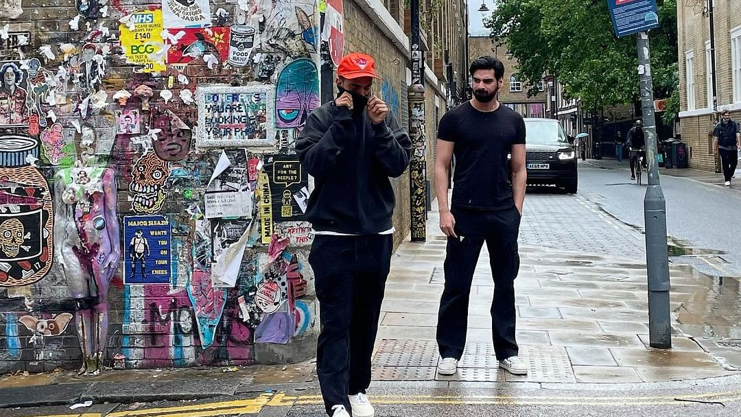 Athiya Shetty's rumoured boyfriend KL Rahul, brother Ahan spotted together in London; fans call them 'jeeja saala'
