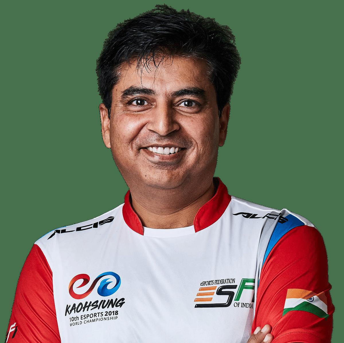 Lokesh Suji, Director, Esports Federation of India