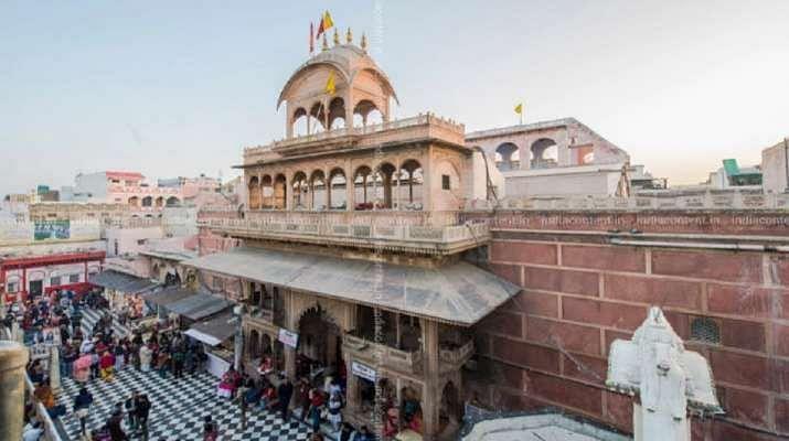 Mathura's Bankey Bihari temple