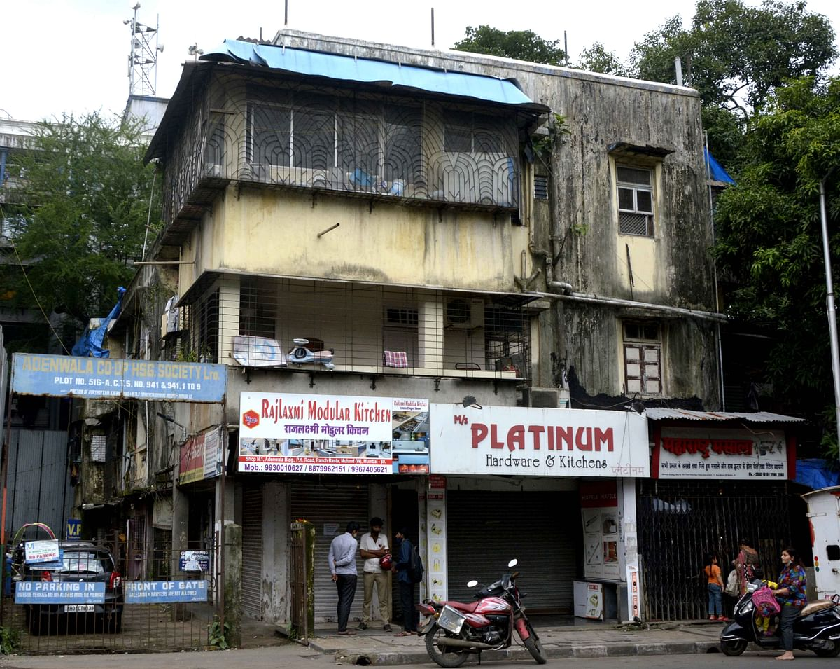 Buildings on the Brink: Give us rent, we will move out, say Mulund building residents