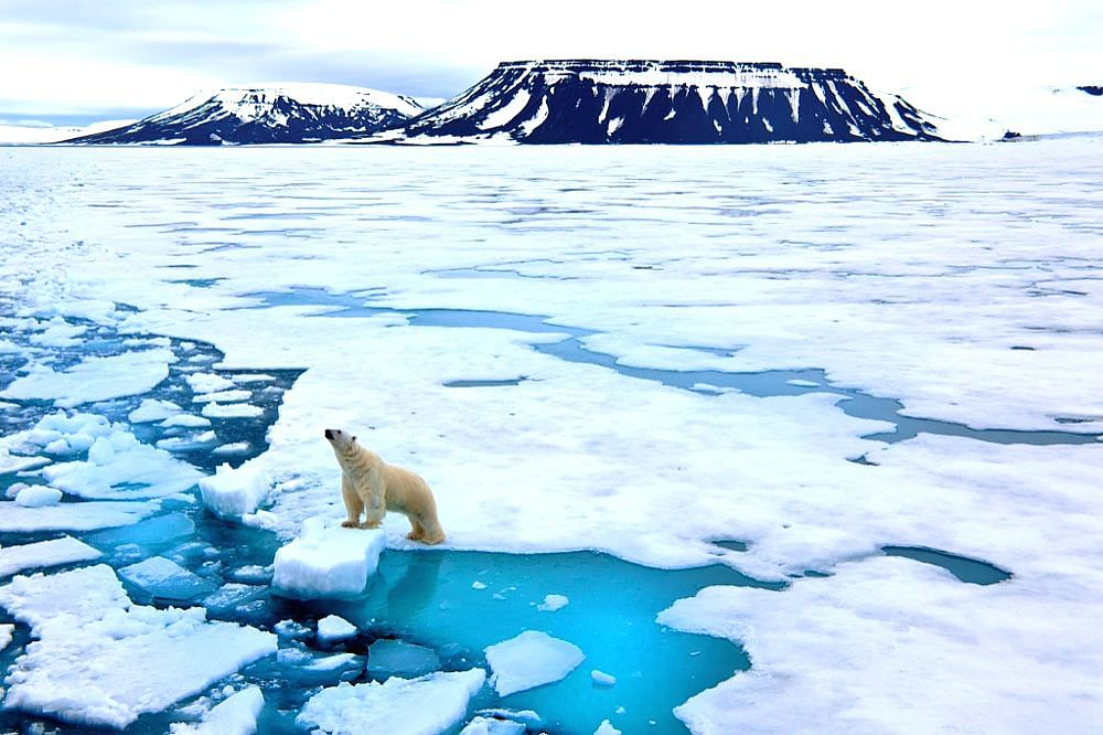 Solar radio signals could be used to monitor melting ice sheets, study suggests