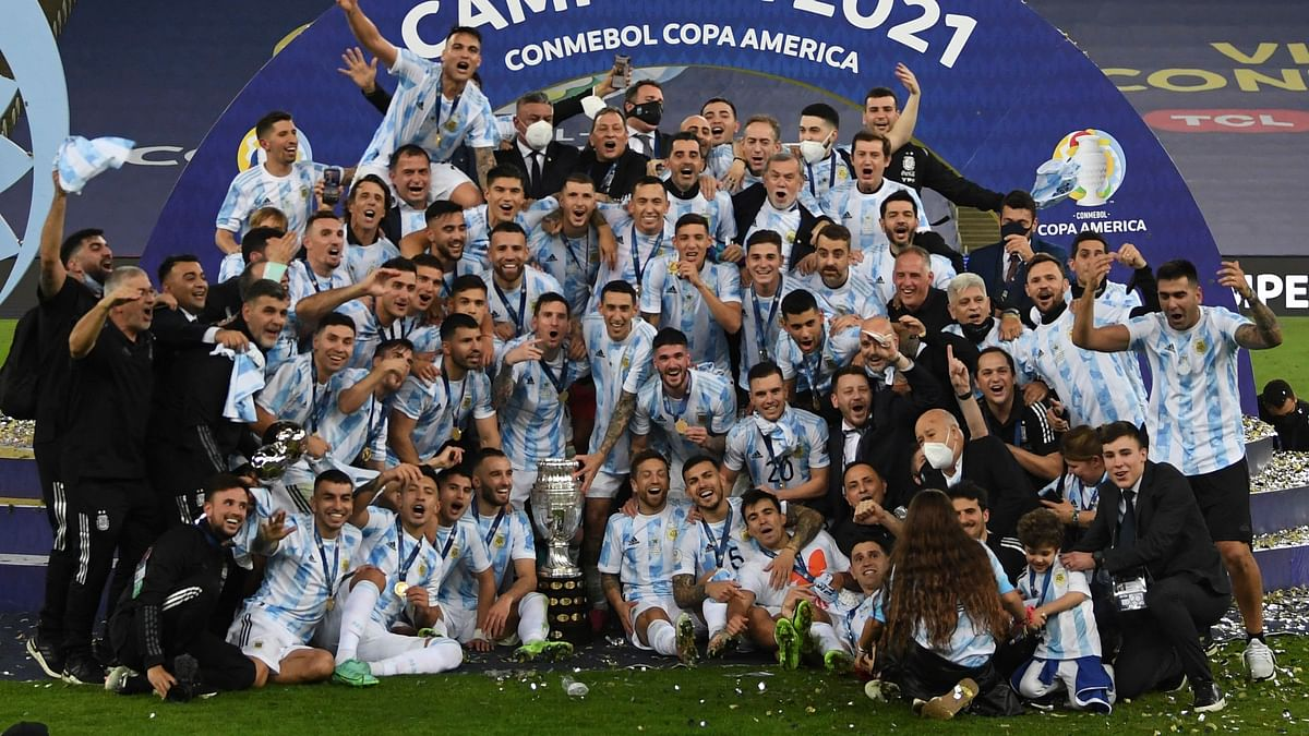 Angel Di Maria's goal helps Argentina clinch Copa America title with 1-0 win over Brazil