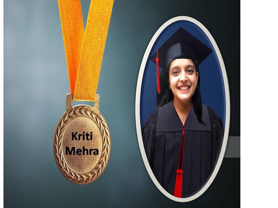 Gold Medalist Kriti Mehra