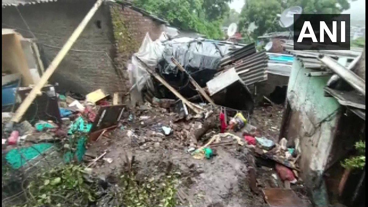 Photos: 14 die in two separate wall collapse incidents in Mumbai's Chembur and Vikhroli areas due to landslides