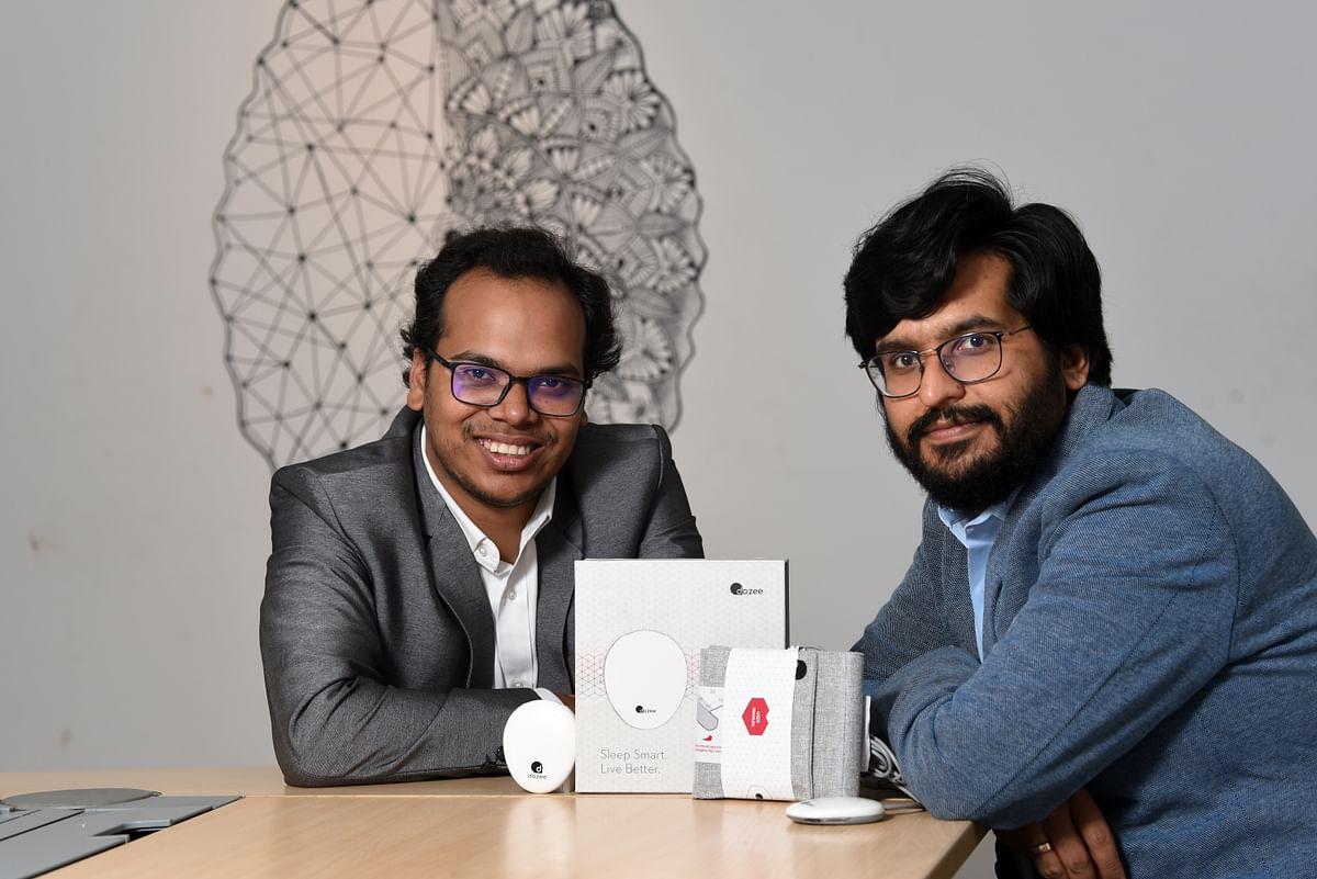 Mudit Dandavate, Gaurav Parchani, co founders, Dozee