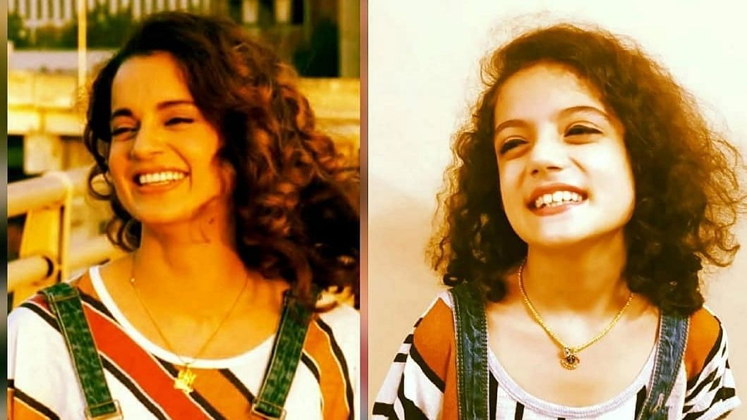 Kangana Ranaut's doppelganger is a 9-year-old who is taking the internet by storm; gets a fun response from the actress