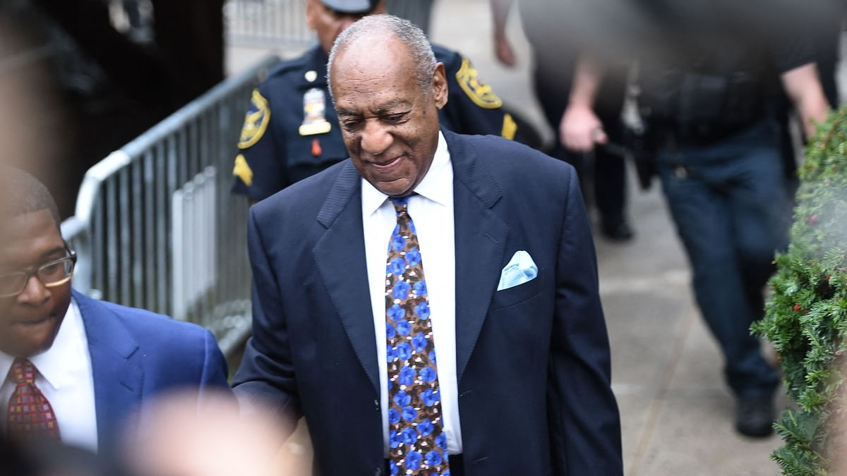 In this file photo taken on September 24, 2018 US actor Bill Cosby arrives at court in Norristown, Pennsylvania to face sentencing for sexual assault