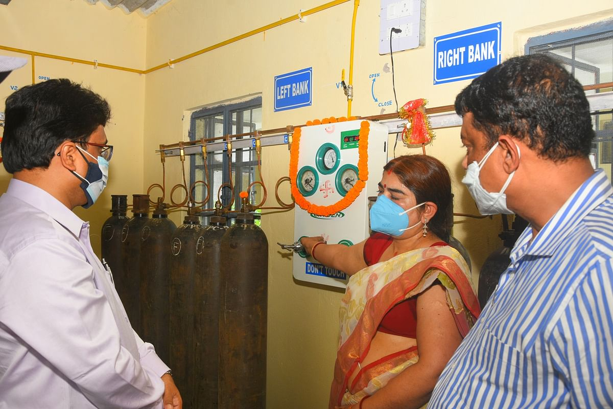 Medical Gas Pipe Line (MGPL), installed at NTPC Talcher Kaniha