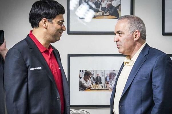 Croatia Grand Chess Tour: Anand beats former world champion Gary Kasparov in 30 moves
