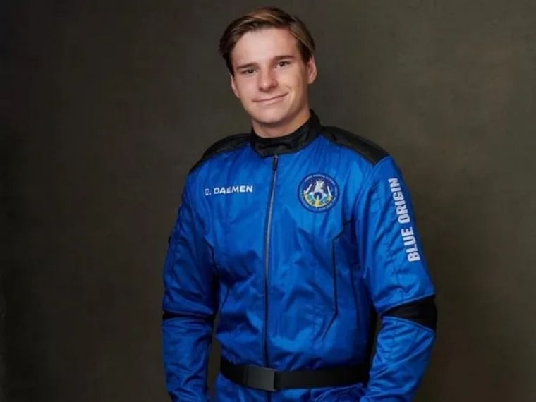 'Never bought something from Amazon': Netherland teen who went to space on Blue Origin flight with Jeff Bezos
